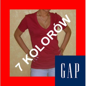 Bluzka / koszulka w serek [rozmiar S]