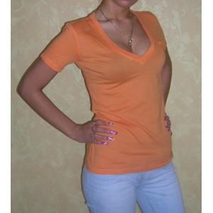 Bluzka / koszulka w serek [rozmiar XS]